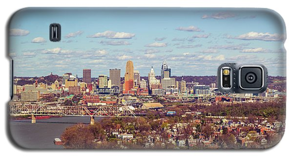 Cincinnati Skyline 2 Galaxy S5 Case by Scott Meyer