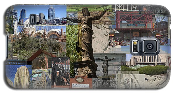 Galaxy S5 Case featuring the photograph Cincinnati's Favorite Landmarks by Robert Glover