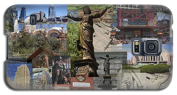 Cincinnati's Favorite Landmarks Galaxy S5 Case by Robert Glover