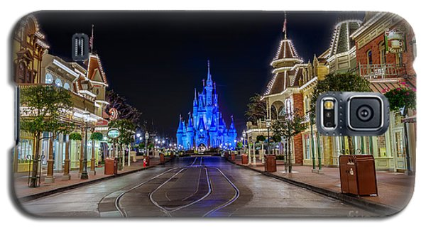 Cinderella Castle Glow Over Main Street Usa Galaxy S5 Case