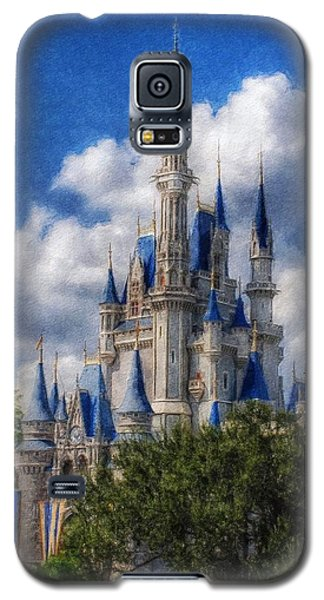 Cinderella Castle Summer Day Galaxy S5 Case