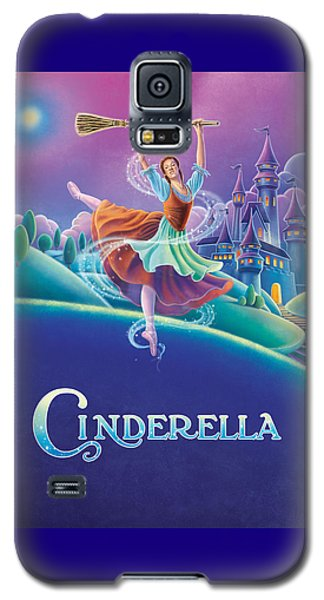Cinderella Poster Galaxy S5 Case