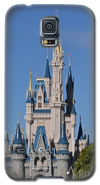 Cinderella's Castle Galaxy S5 Case by Carol  Bradley