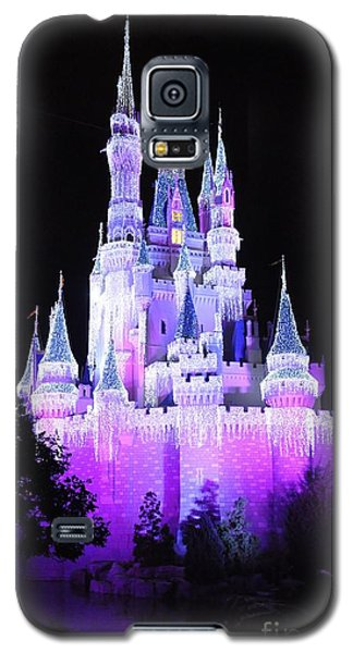 Cinderella's Holiday Castle Galaxy S5 Case