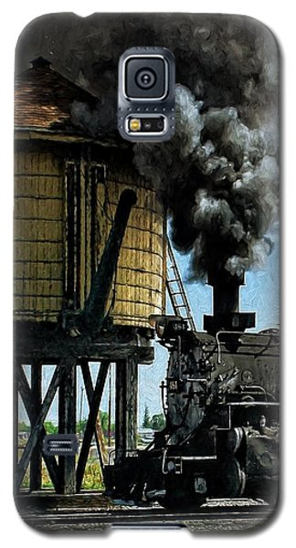 Galaxy S5 Case featuring the photograph Cinders And Water by Ken Smith