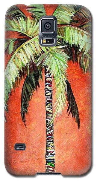 Cinnamon Palm Galaxy S5 Case