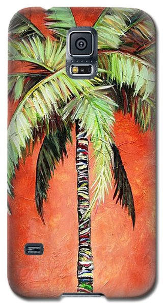 Cinnamon Palm Galaxy S5 Case