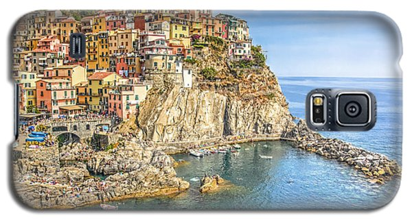 Galaxy S5 Case featuring the photograph Cinque Terre by Brent Durken