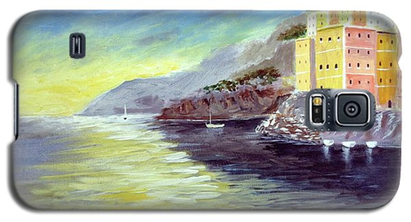 Cinque Terre Dreams Galaxy S5 Case by Larry Cirigliano