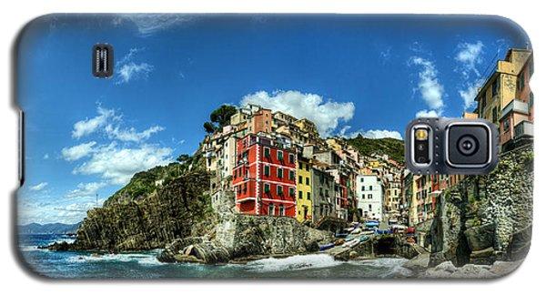 Cinque Terre - View Of Riomaggiore Galaxy S5 Case