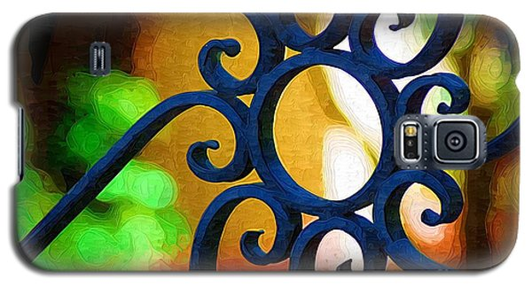 Circle Design On Iron Gate Galaxy S5 Case