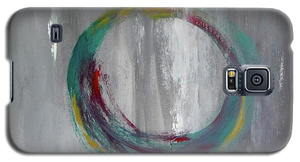 Galaxy S5 Case featuring the painting Vortex by Victoria Lakes