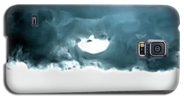 Circle Of Storm Clouds Galaxy S5 Case