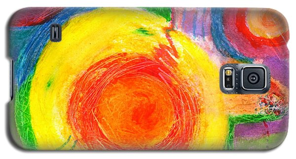 Circles Ai Galaxy S5 Case by Mary Armstrong