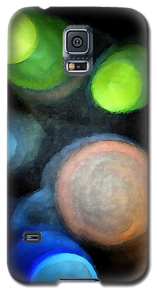 Circles Of Light Galaxy S5 Case by Saad Hasnain