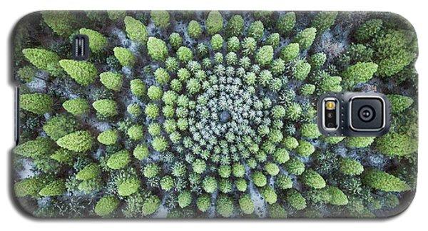Circular Symmetry Galaxy S5 Case