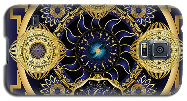 Galaxy S5 Case featuring the digital art Circulosity No 3128 by Alan Bennington