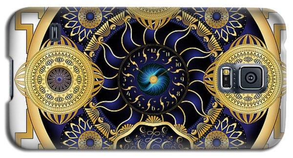 Galaxy S5 Case featuring the digital art Circulosity No 3129 by Alan Bennington