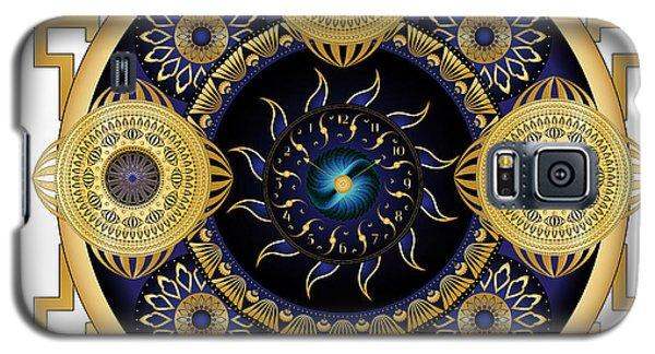 Galaxy S5 Case featuring the digital art Circulosity No 3130 by Alan Bennington