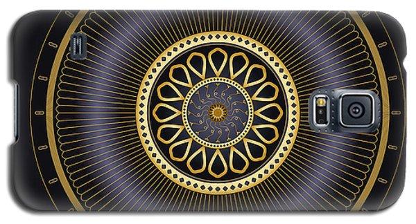 Galaxy S5 Case featuring the digital art Circulosity No 3272 by Alan Bennington