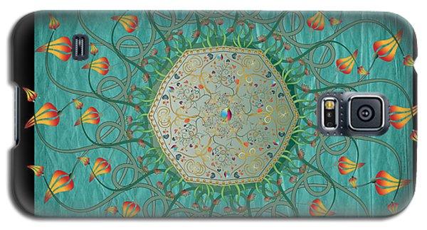 Galaxy S5 Case featuring the digital art Circulosity No 3274 by Alan Bennington