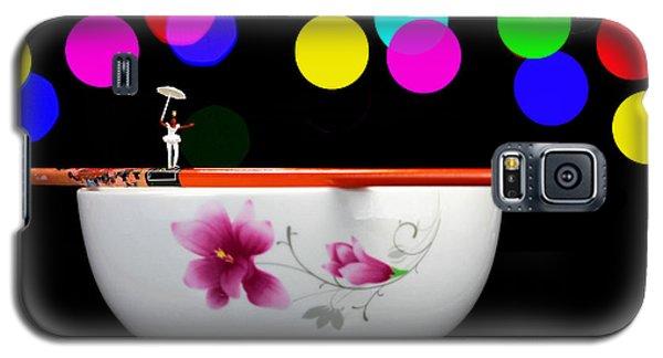 Circus Balance Game On Chopsticks Galaxy S5 Case