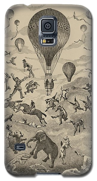 Circus Balloon Galaxy S5 Case