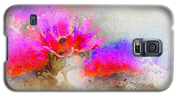Circus Flowers Galaxy S5 Case