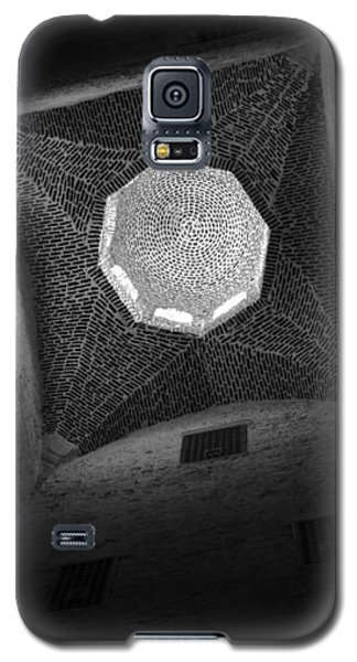 Galaxy S5 Case featuring the photograph Citadel Dome Of Alex Bw by Donna Corless