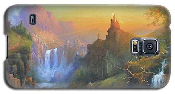 Citadel Of The Elves Galaxy S5 Case