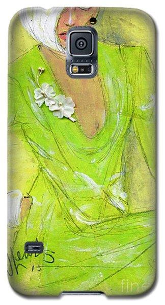 Citron Galaxy S5 Case by P J Lewis
