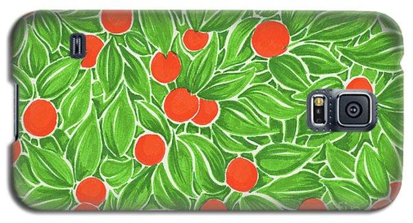 Citrus Pattern Galaxy S5 Case