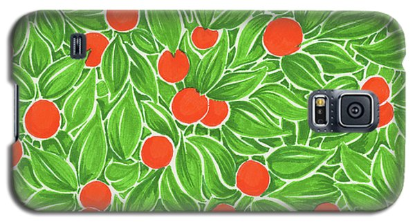 Citrus Pattern Galaxy S5 Case
