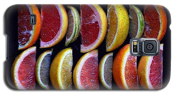 Wavy Citrus Lineage Galaxy S5 Case