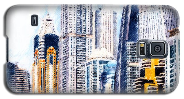 City Abstract Galaxy S5 Case