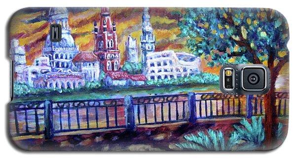 City Across The River Galaxy S5 Case