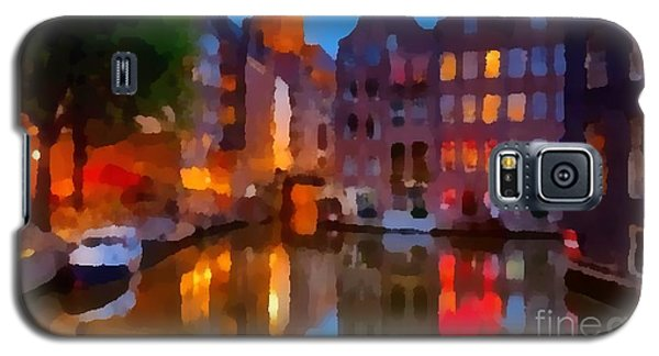 City Block 900 Soft And Dreamy In Thick Paint Galaxy S5 Case