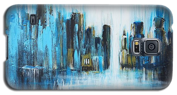 City Blues Galaxy S5 Case by Theresa Marie Johnson