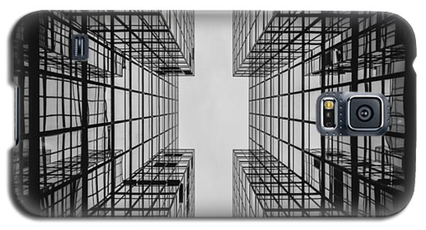 Galaxy S5 Case featuring the photograph City Buildings by Marianna Mills