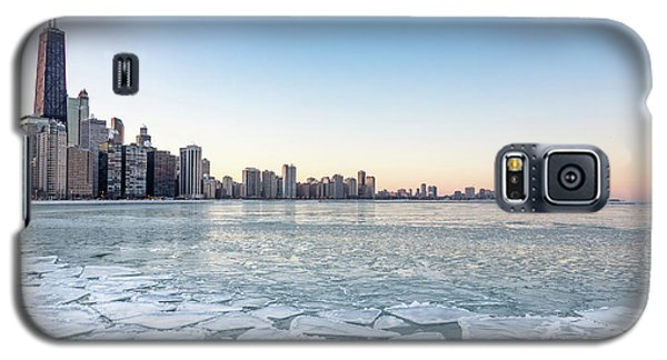 City By The Frozen Lake Galaxy S5 Case