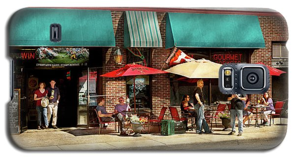Galaxy S5 Case featuring the photograph City - Edison Nj - Pino's Basket Shop by Mike Savad