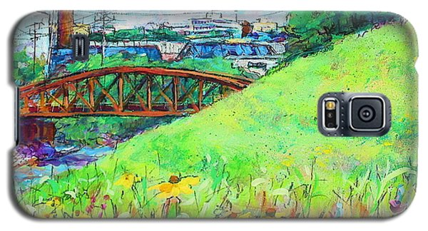 City Fields Galaxy S5 Case by Les Leffingwell