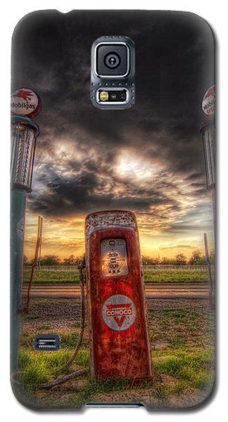 City Garage Sunset Galaxy S5 Case