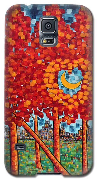 City Moonshine Galaxy S5 Case by Holly Carmichael