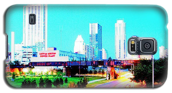 City Of Austin From The Walk Bridge 2 Galaxy S5 Case