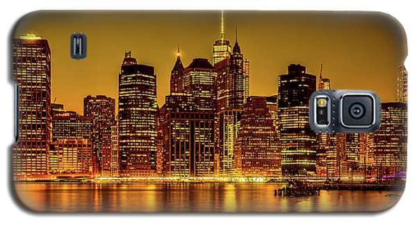 Galaxy S5 Case featuring the photograph City Of Gold by Chris Lord
