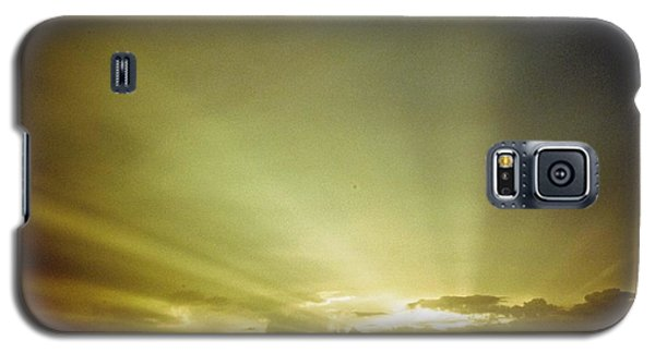 City Of Gold In The Sky Galaxy S5 Case by Belinda Lee
