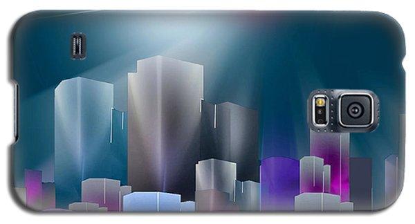 City Of Light Galaxy S5 Case by John Krakora