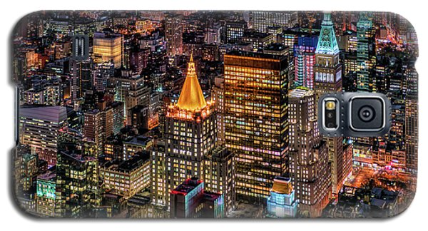 City Of Lights - Nyc Galaxy S5 Case by Rafael Quirindongo