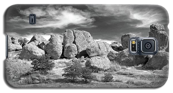 Galaxy S5 Case featuring the photograph City Of Rocks And Sky by Martin Konopacki